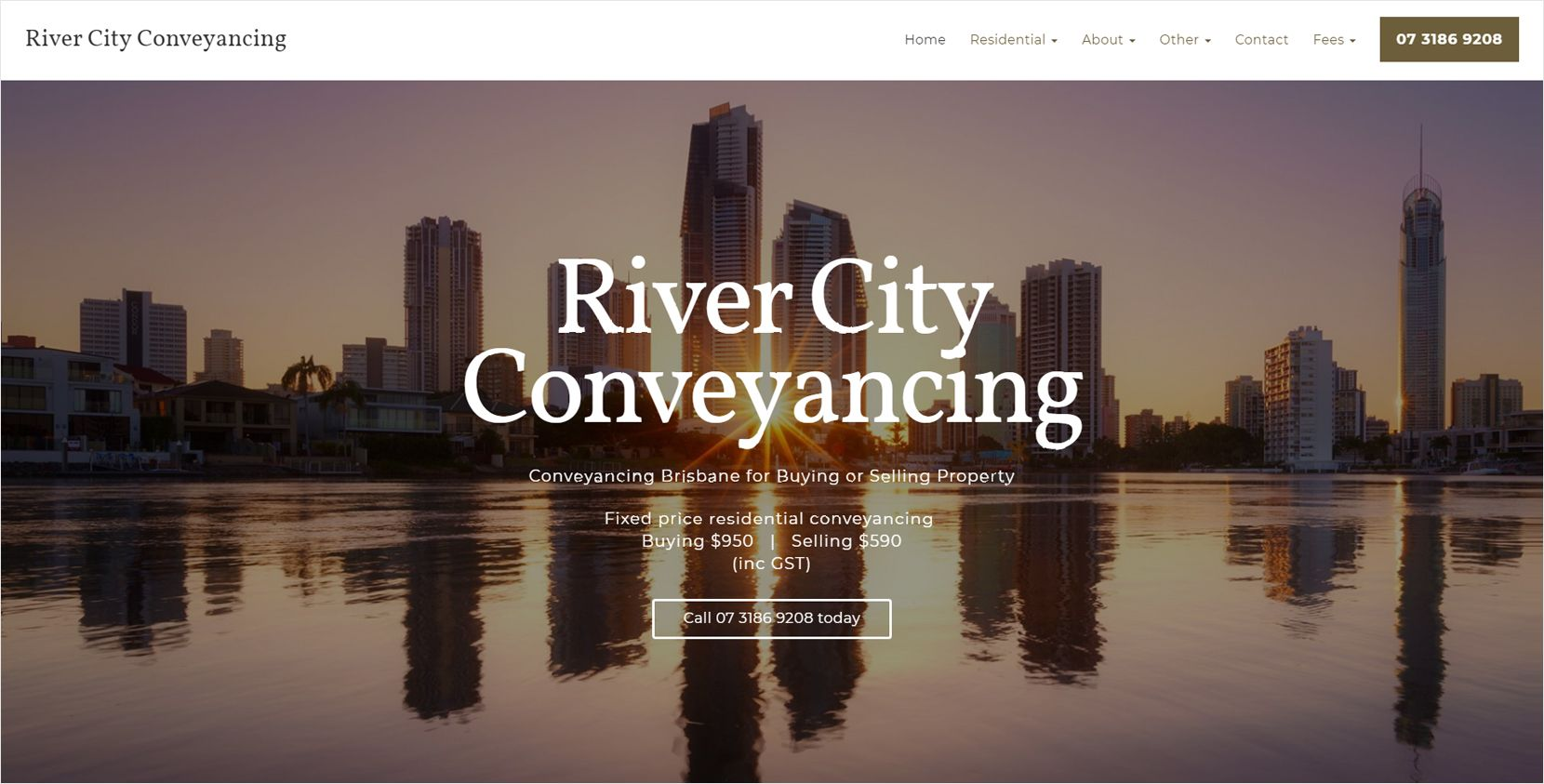 River City Conveyancing Website